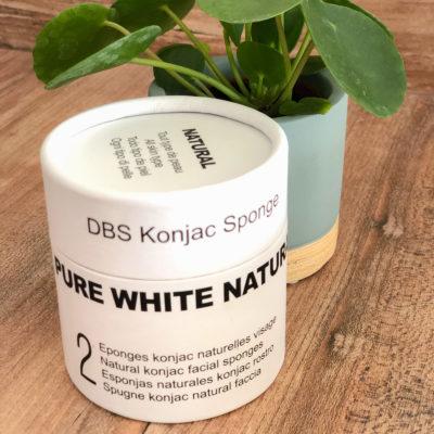 Boîte duo Éponges Konjac DBS Naturelles