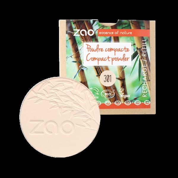 recharge poudre compacte Ivoire 301 ZAO MAKEUP