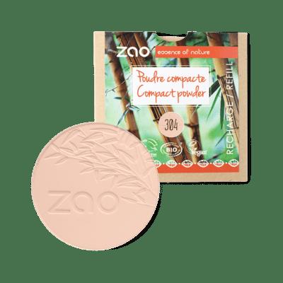 Recharge Poudre Compacte – Capuccino 304