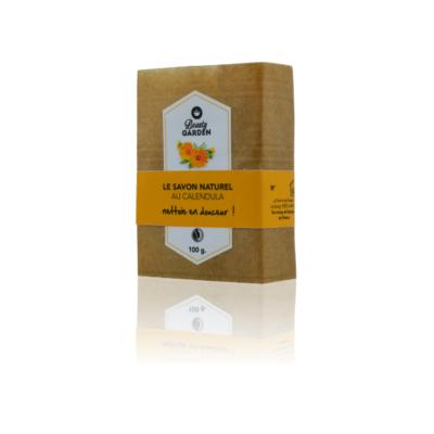 Savon Solide au Calendula Saponifié à Froid