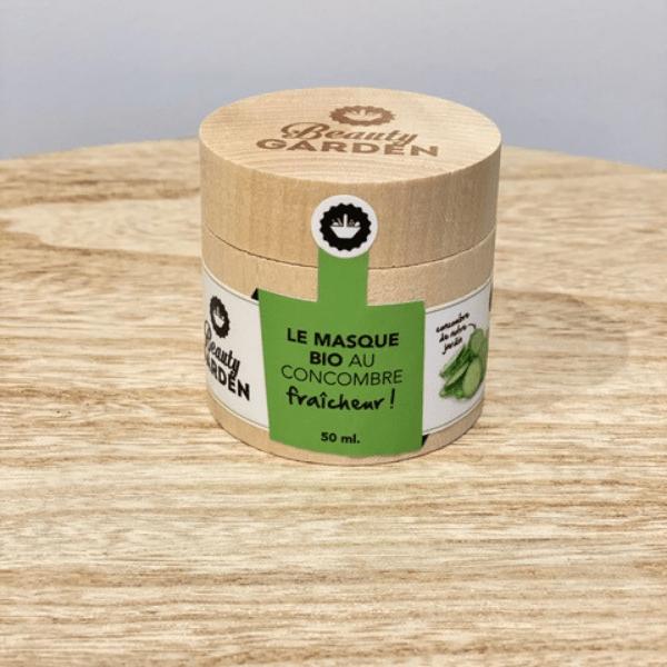 Masque Bio au Concombre Fraicheur visu - Beauty Garden