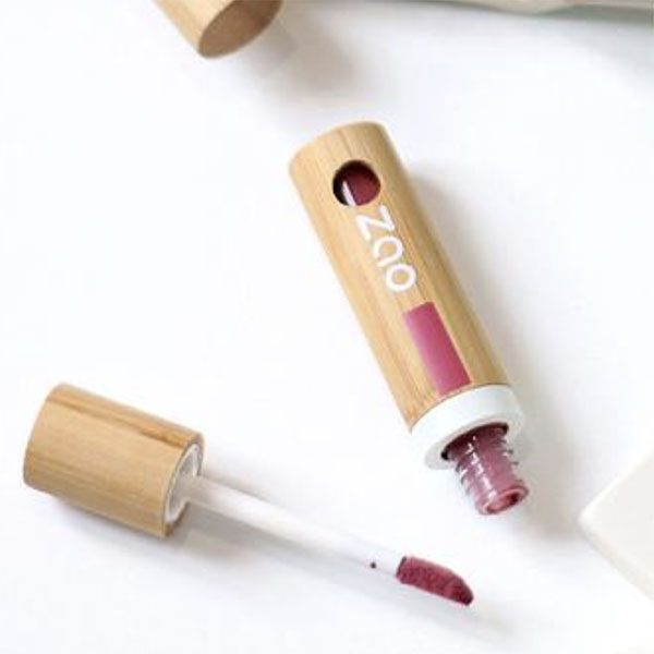 Encre à Lèvres Collection d'été Rose Corail 444 Zao Makeup Visuel