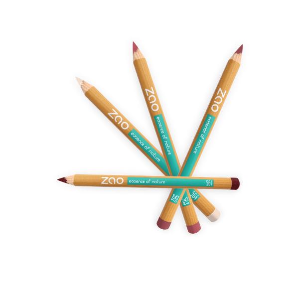Crayons bio Lèvres multi-usages -- Zao Makeup