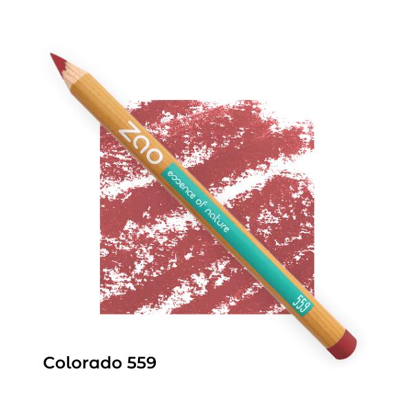 Crayons bio lèvres multi-usages Colorado 559-- Zao Makeup