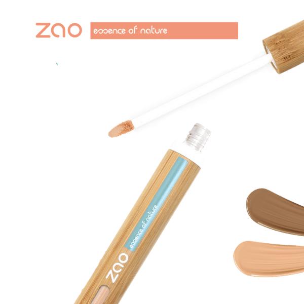 ANTICERNE FLUIDE IMAGE COMMERCIALE - Zao Makeup