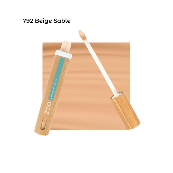 Anticerne Fluide Beige Sable 792 - Zao Makeup