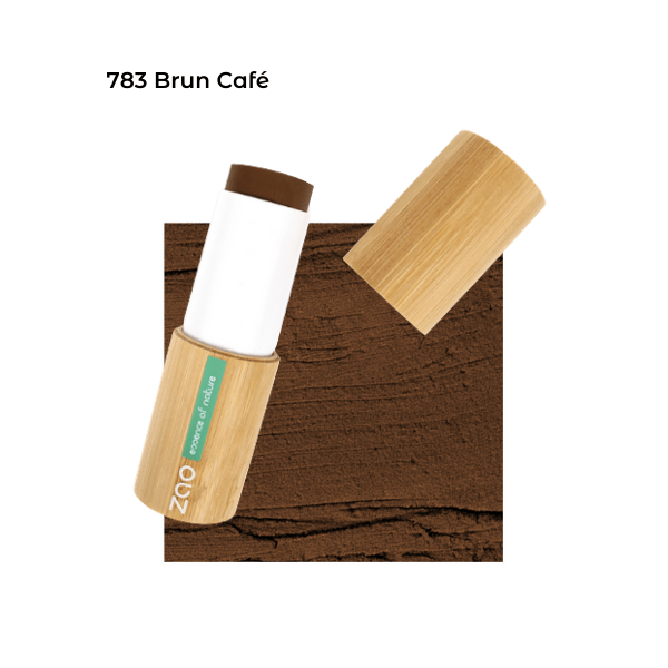 Fond de teint stick Brun Café 1017823 visu - Zao Makeup