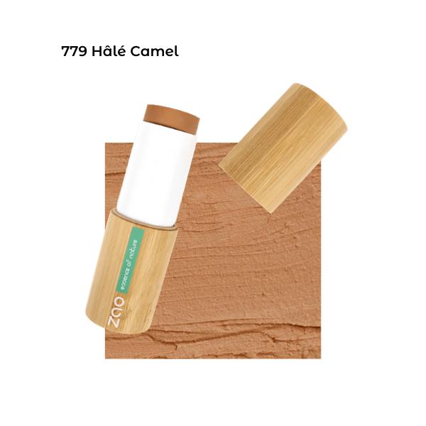 Fond de teint stick Hâlé Camel 101779 visu - Zao Makeup