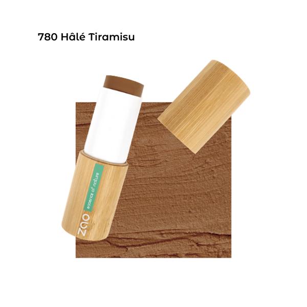 Fond de teint stick Hâlé Tiramisu 101780 visu - Zao Makeup