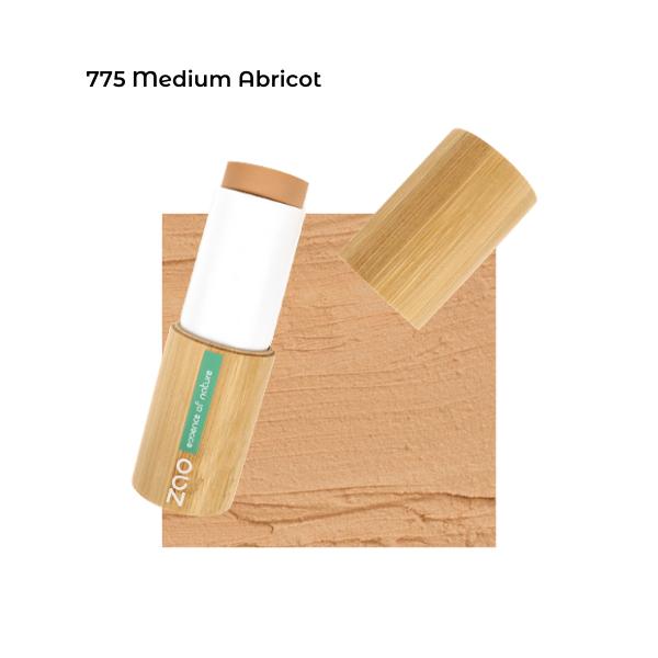 Fond de teint stick Medium Abricot 101775 visu - Zao Makeup