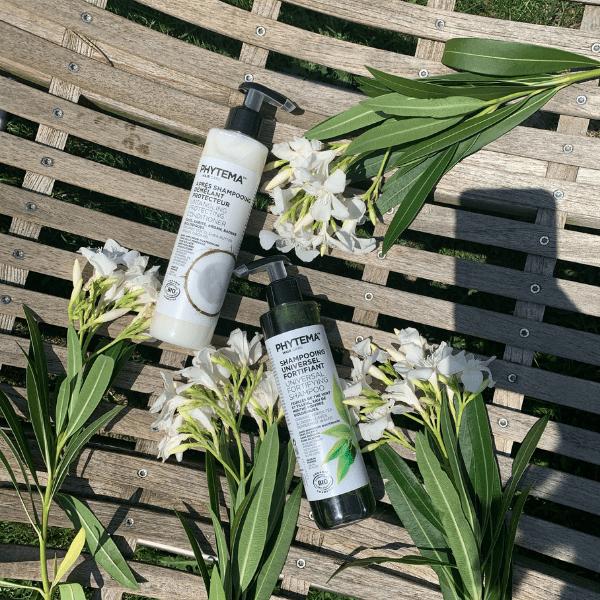 Duo Perfect Hair visu • Phytema Shampoing et Après-Shampoing liquides naturels