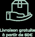 Livraison gratuite 60€